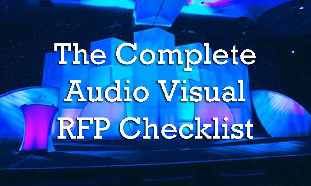 how to make audio visual presentation